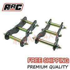 "2"" Inch Lift Extended Greasable Shackles Ford Ranger Mazda BT50 2012-Onward Kit"