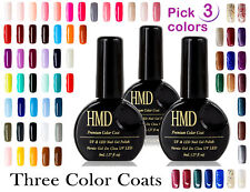 3 Pcs Value pack  Canada HMD Soak Off sparkle shine UV LED Gel Nail Polish sale