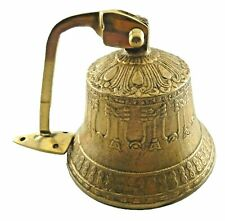 Nautical Ship Bell Antique Finish Handcrafted Bronze Wall Mounted Door Bell