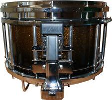 "Tama Bubinga Birke B1412SL GDF 14""x12"" MARCHING SNARE Drum Gold Dust Fade NeuOVP"