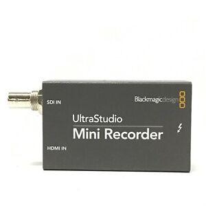 Blackmagic Design UltraStudio Mini Recorder Capture Device Japan - Works [TG]