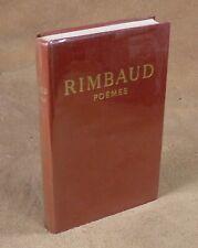 RIMBAUD - POEMES - HACHETTE 1963