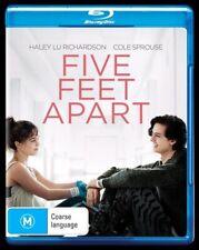 Five Feet Apart (Blu-ray, 2019) NEW