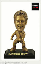 2009 Select AFL LIMITED EDITION GOLD FIGURINE NO.24 Campbell Brown (Hawthorn)