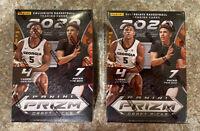 Lot of (2) 2020-21 Panini Prizm Draft Picks Basketball NBA Blaster Box New