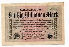 Duitsland / Germany - 50.000.000 Mark 1923