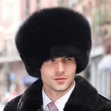 3dae9feb88b Black Fox Fur Pill Box Men s Hat