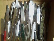 LOT OF 30 PCS (PLUS) FLATWARE DINNER KNIVES,STAINLESS, TSA