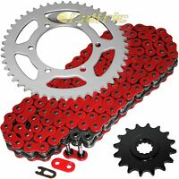 Red O-Ring Drive Chain & Sprockets Kit for Yamaha R6 YZF-R6 2003 2004 2005