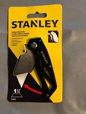 Stanley 10-855 Folding Utility Knife Black Brand New