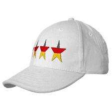 Baseballcap Cap Kappe Muetze m.Stick Weltmeister 2014 Deutschland 4 Sterne 12375
