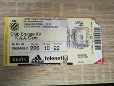 Ticket :  Club Brugge - KAA Gent 28.07.2006