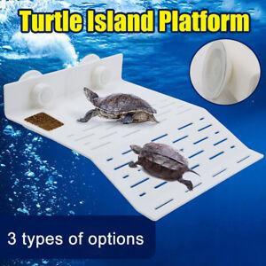 Aquarium Tank Reptile Turtle Basking Terrace floating Island Platform Dock Decor