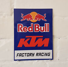 Red Bull KTM Racing METAL SIGN 2 Sizes Available ideal for pub bar Man Cave