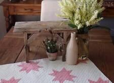 Wonderful ANTIQUE Primitive Farmhouse Wooden STOOL Stack Display
