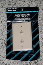 Radio Shack 279-350 Dual Modular Wall Plate