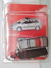 Herpa 013048 Minikit - 1:87 - VW TOURAN, Silver - New Original Packaging