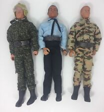 """Lot of 3- 21st Century Toys 12"""" in Action Figures German Soldiers Police Officer"""