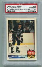 1990 Topps Tiffany Wayne Gretzky Team Scoring Leader PSA 10 GEM MINT