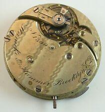 Steinecke & Hammer Pocket Watch Movement - Spare Parts / Repair