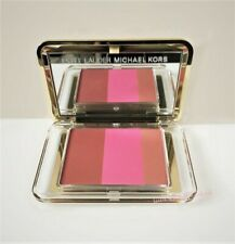 Estee Lauder Michael Kors Deluxe Blush Compact ~ Hot Sienna Electric Pink New