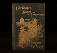 1894 Coridons Song Various Sources Intro Austin Dobson Illustrated Thomson First