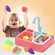 Simulation Electric Dishwasher Sink Toys For Pretend Play Kitchen Children Kids