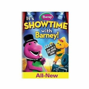 Barney: It's Showtime with Barney New DVDs