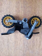 Lego motorcycle with 2 wheels