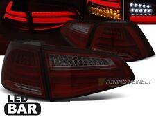 Lightbar LED Rückleuchten Heckleuchten VW Golf VII 7 rot schwarz