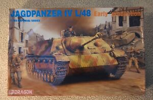 1/35 DRAGON JAGDPANZER IV L/48 EARLY PRODUCTION # 9021