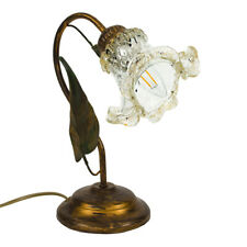 Lamp, Abt Jour Style Country With Cup Murano Oro. Lamp Shabby Chic 1xE14