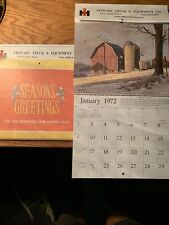 1972 International Harvester Calendar