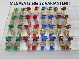 MS: MEGASATZ   MUSKETIERE 1991 alle 32 Stück       (STEU57)