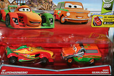 CARS 2 - RIP CLUTCHGONESKI & BRIAN GEARLOOSKI - Mattel Disney Pixar