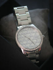 Guess Women's Silver Tone Stainless Steel Strap Watch