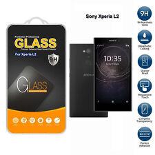 verre trempé pour Sony Xperia L2 Téléphone portable Protecteur d'écran