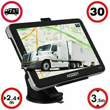 XGODY 7'' Sat Nav Truck Car HGV Lorry GPS Navigation 8GB with Free Europe 3D Map