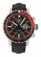FORTIS b-42 marinemaster Automatico Cronografo Red 671.23.43 LP