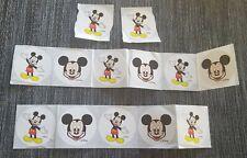 Disney World Park original Mickey Mouse Stickers - Lot of 13 New *Rare*