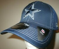 New Era 39Thirty Dallas Cowboys NFL Football Cap Hat Men's L/XL flex fit navy