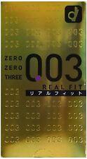 Condoms OKAMOTO Japan 10p Okamoto 003 0.03mm Real Fit condom Super Ultra THIN
