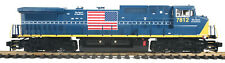 MTH G-Gauge CSX Dash-8 with DCS, DCC, Sound, Smoke & Auto Couplers 70-2122-1