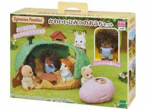 Sylvanian Families HEDGEHOG SECRET HOUSE Calico Critters KO-65 Japan
