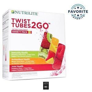 nutrilite twist tubes