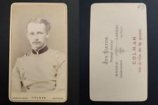 Tiator, Colmar, von Berswordt Vintage albumen carte de visite, CDV. Album de rég