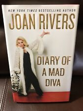 Joan Rivers Signed Book Diary Of A Mad Diva 1st Edition Autographed JSA Auth