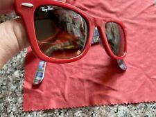 ray ban sunglasses wayfarer red