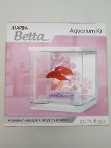 Marina Betta Fish Aquarium Kit: Small | 2L (PET47)