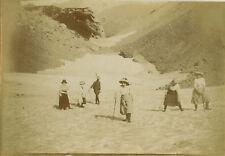 PHOTO ANCIENNE - VINTAGE SNAPSHOT - GROUPE MONTAGNE ALPINISME MODE - MOUNTAIN 2